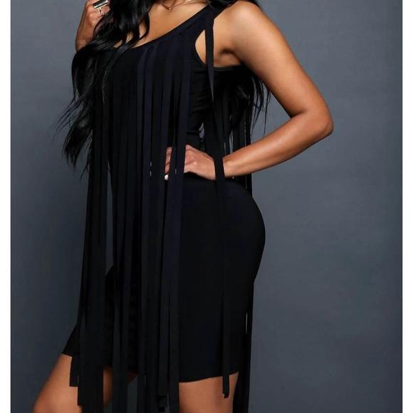 On the fringe dress plus size